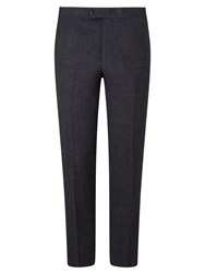 John Lewis And Co. Pelham Brushed Semi Plain Tailored Suit Trousers Charcoal