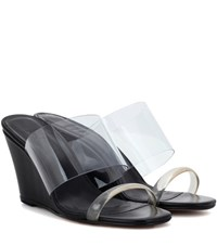 Maryam Nassir Zadeh Olympia Transparent Sandals Black