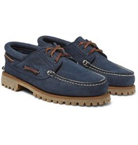 Timberland Nubuck Boat Shoes Navy