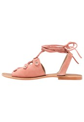 Glamorous Sandals Coral Salmon