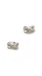 Kate Spade Sailor's Knot Earrings Silver