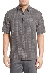 Men's Toscano 'Weave' Regular Fit Silk Blend Sport Shirt