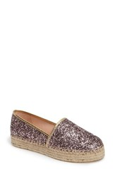 Kate Spade Women's New York 'Linds' Bow Espadrille Rose Gold