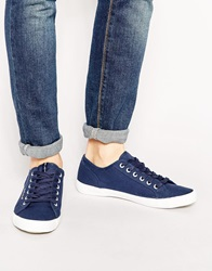Voi Jeans Voi Canvas Trainers Navy