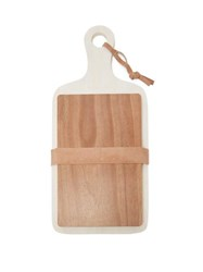 Brunello Cucinelli Large Marble And Wood Cutting Boards Brown