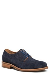 Trask Men's 'Fiske' Longwing Navy