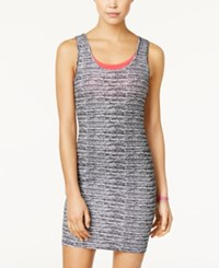 Material Girl Active Juniors' Graffiti Graphic Layered Dress Only At Macy's Neo Tribal