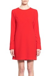 Women's Wayf Back Cutout Long Sleeve Shift Dress