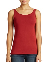 Lord And Taylor Petite Iconic Fit Slimming Tank Top Siam