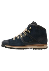 Timberland Earthkeepers Scramble Mid Laceup Boots Navy Blue