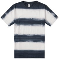 Head Porter Plus Tie Dye Border Tee Black