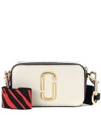 Marc Jacobs Snapshot Small Leather Camera Bag White