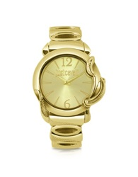 Just Cavalli Eden Golden Dial Bracelet Watch