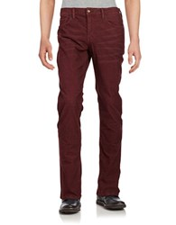 Joe's Jeans Brixton Straight Leg Corduroy Pants Brogue