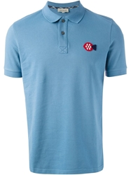 Paul And Joe Fitted Polo Shirt Blue