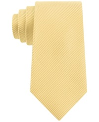 Geoffrey Beene Bias Stripe Solid Tie Yellow