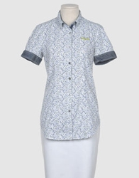 Meltin Pot Short Sleeve Shirts Blue