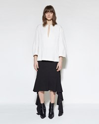 Marni Ruffle Skirt Black