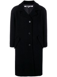 Mcq By Alexander Mcqueen Single Breasted Coat Black