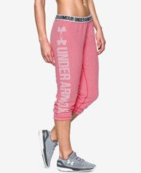 Under Armour Favorite Fleece Capri Pants Knock Out