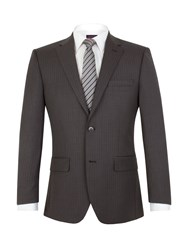 Pierre Cardin Halkirk Stripe Regular Fit Jacket Grey