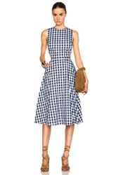 Tanya Taylor New Monica Dress In Black White Checkered And Plaid