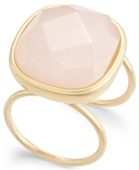 Inc International Concepts Gold Tone Pink Stone Ring Only At Macy's