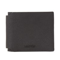Lanvin Grained Calfskin Wallet Black