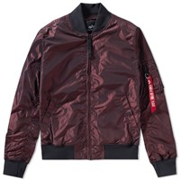 Alpha Industries Ma 1 Tt Jacket Burgundy