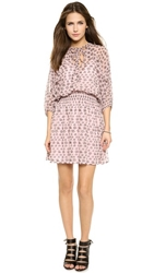 Rebecca Minkoff Shadow Mini Dress Hydrangea Pink