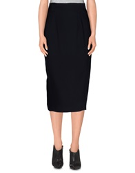 Laurel 3 4 Length Skirts Black