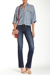 Big Star Sarah Mid Rise Slim Boot Jean Blue