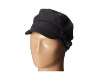San Diego Hat Company Cth3708 Wool Blend Cabbie With Self Belt Bow Charcoal Traditional Hats Gray