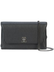 Akris Anouk Shoulder Bag Black