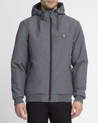 Iriedaily Anthracite Grey Mix Waterproof City Arctic Mel Jacket