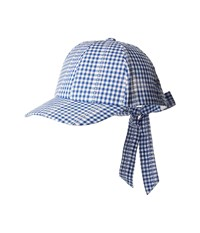 Collection Xiix Picnic Party Bow Back Baseball Royalty Blue Baseball Caps