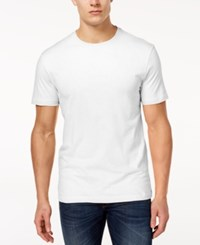 Club Room Men's Performance T Shirt Created For Macy's Bright White