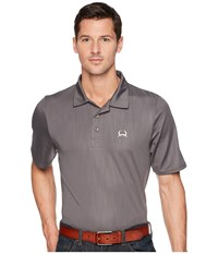 Cinch Athletic Embossed Tech Polo Gray Clothing