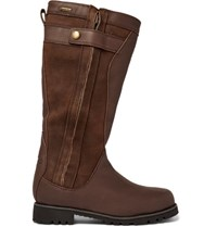 Musto Shooting Storm Gore Tex Leather And Nubuck Boots Brown