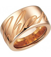 Chopardissimo 18Ct Rose Gold Ring