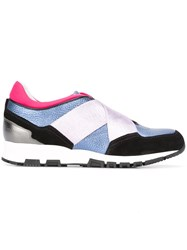 Lanvin Elasticated Band Sneakers Multicolour