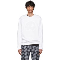 Mcq By Alexander Mcqueen White Padded Mad Chester Sweatshirt