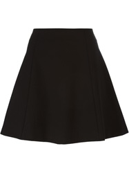 Red Valentino Short A Line Skirt Black
