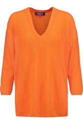 Magaschoni Cashmere Sweater Orange