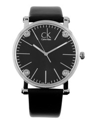 Ck Calvin Klein Wrist Watches Black