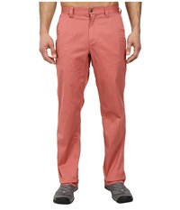 Mountain Khakis Lake Lodge Twill Pant Summer Red Men's Casual Pants