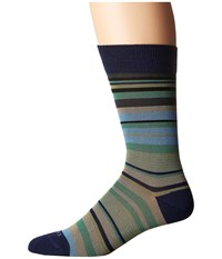 Etro Mini Striped Socks Blue
