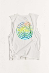 Quiksilver Spiral Muscle Tank Top Washed Black