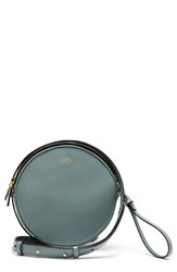 Vince Camuto 'Brena' Leather Crossbody Bag Blue Lead