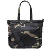 Porter Yoshida And Co. Counter Shade Camo 2Way Helmet Tote Brown